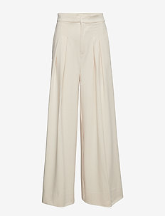 Abra Wide Pant - FRENCH NOUGAT