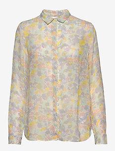 Hayden Shirt - langermede bluser - pastel watercolour florals