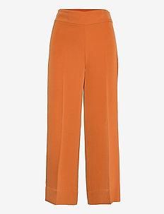 Zhen Culotte Pant - bukser med brede ben - honey