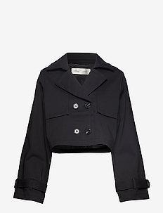 Zerro Trench Jacket - BLACK