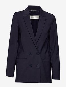 Zala Blazer - oversized blazers - marine blue