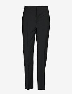 Zala Cigarette Pant - spodnie proste - black