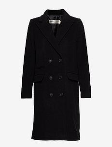 ZelieIW Classic Coat - BLACK