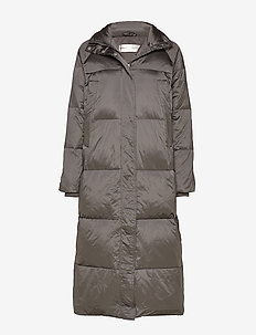 ZayraIW Long Coat - padded coats - nine iron