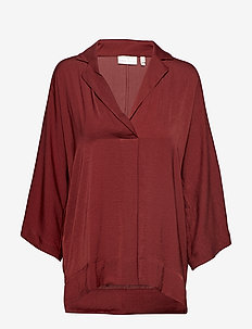ThaliaIW Top - RUSSET BROWN