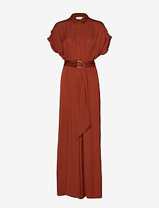 ThaliaIW Jumpsuit - RUSSET BROWN