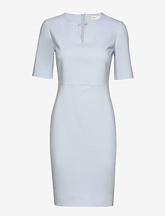 Zella Dress - midi dresses - halogen blue