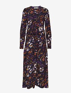 KavitaIW Long Dress - PETUNIA WILD FLOWER