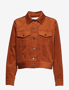 JazlynIW Jacket - RUST