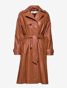 BlanchettIW Coat - RUST