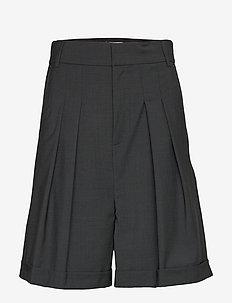 IW50 32 CarolynIW Shorts - DARK GREY MELANGE