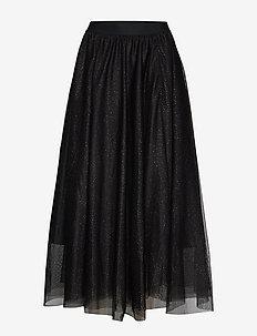 CharlotteIW Skirt - BLACK GOLD DOT