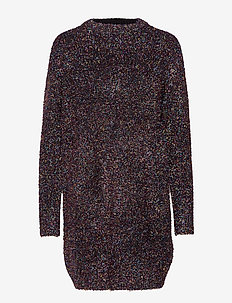 OzonaIW Dress - MULTI COLOR GLITTER