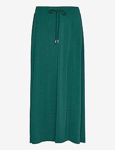 NabaIW Skirt - midinederdele - warm green