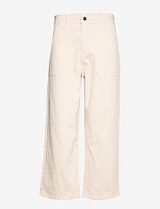 EnovaIW Pants - szerokie dżinsy - french nougat