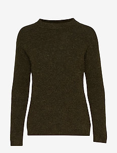 PapinaIW Oneck Pullover - OLIVE LEAF
