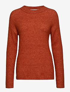 PapinaIW Oneck Pullover - RUST
