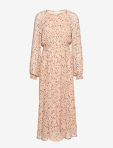 RebeccaIW Dress - midi kjoler - powder small dots