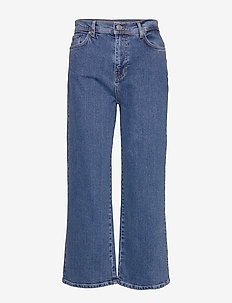 MazieIW Jeans - BLUE DENIM WASH