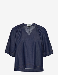 MinneIW Blouse - bluzki z krótkim rękawem - rinsewash