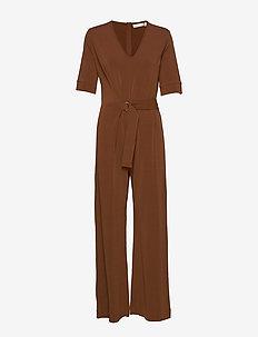 AdenIW Jumpsuit - jumpsuits - cinnamon