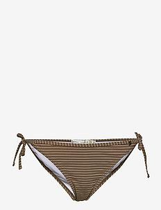 AliaIW Bikini Bottom - bikinitrosor - cinnamon / white smoke stripe