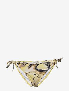 AlisonIW Bikini Bottom - bikinitrosor - yellow marbling