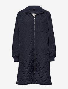 EktraIW Quilted Coat - vestes matelassées - marine blue