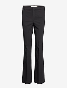 ZellaIW Bootcut Pant - straight leg trousers - black
