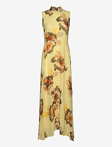 DagnyIW Dress - maxi kjoler - watercolour flower
