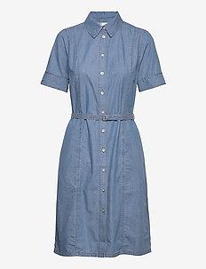 BobiIW Dress - shirt dresses - blue denim