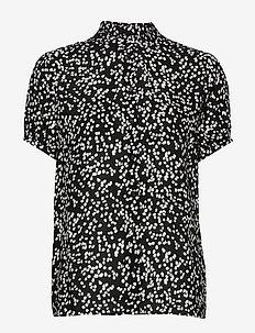 FiaIW Shirt - lyhythihaiset puserot - black windy dots