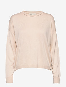HilleriIW Pullover - swetry - french nougat