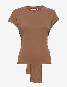 EllinorIW T-Shirt - t-shirts - tabac
