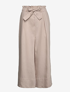 QuiIW Culotte Pant - wide leg trousers - powder beige