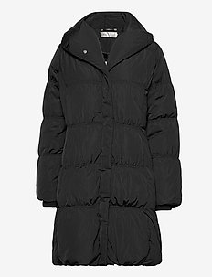 LiyaIW Cups Coat - dunkappor - black