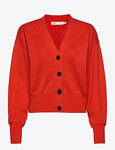 SammyIW Cardigan - cardigans - deep orange