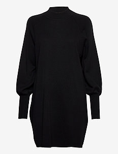 SanjaIW Dress - sukienki dzianinowe - black