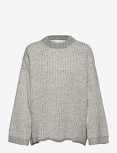 SolaIW Pullover - pullover - new light grey melange