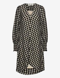 PadgetIW Dress - midi kjoler - black / white