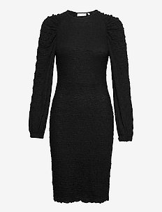 CalistaIW Dress - sukienki do kolan i midi - black
