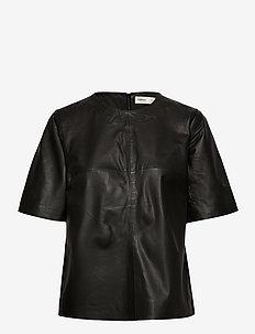 JayleeIW Top - blouses à manches courtes - black