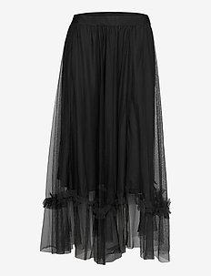 GeneIW Skirt - midinederdele - black