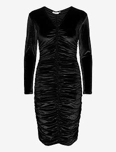 FarylIW Slim Dress - midiklänningar - black