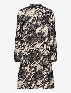 GillaIW Dress - midi kjoler - marble