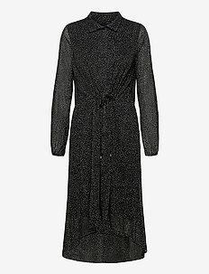 VilmaIW Dress - hverdagskjoler - black minimal dot