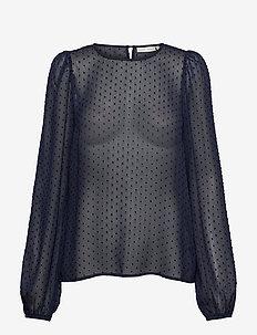 VawaIW Blouse - blouses met lange mouwen - midnight magic