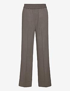 OraIW Wide Pant - vide bukser - sandy grey