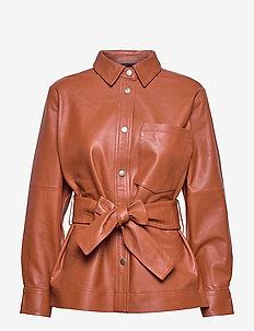 OannaIW Shirt Jacket - overshirts - golden sunset