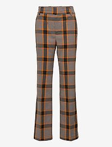OllieIW Bootcut Pant - rette bukser - sandy grey
